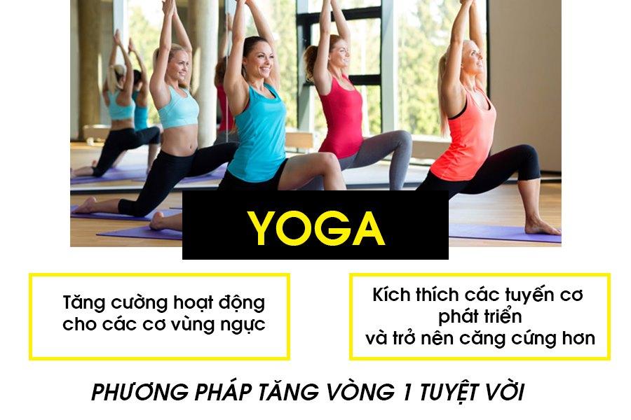 Bài tập yoga tăng vòng 1 hiệu quả