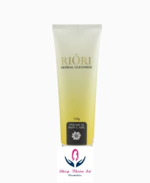 Sữa rửa mặt thảo dược herbal cleanser riori - 3