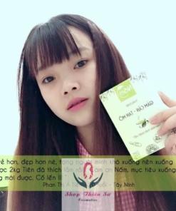 Khách hàng dùng trà nấm giảm cân - 12