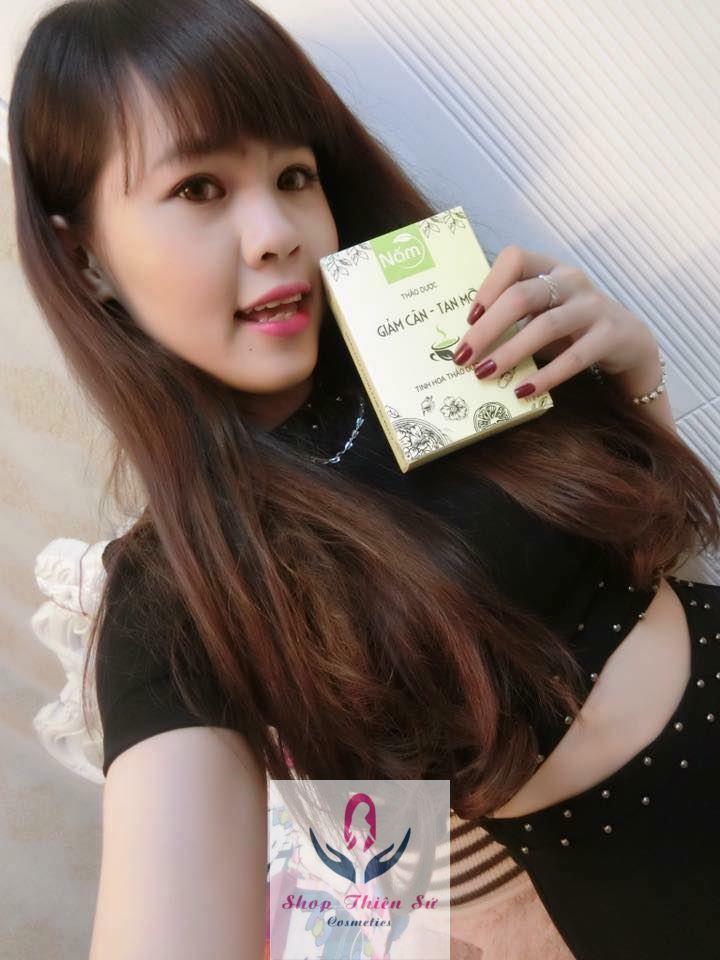 Khách hàng dùng trà nấm giảm cân - 8