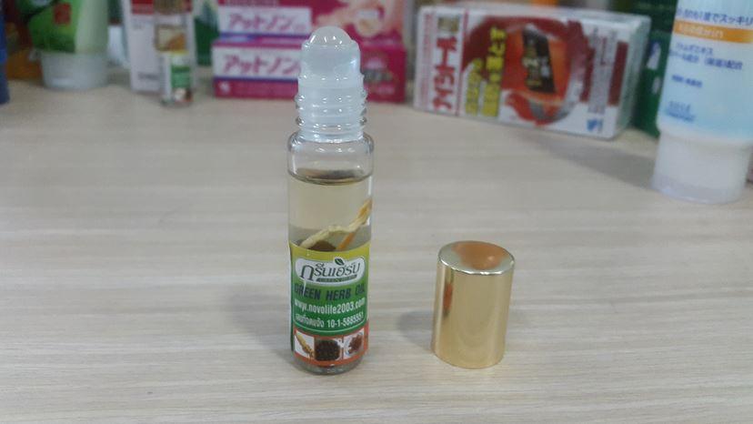 Dầu lăn nhân sâm Thái Lan Green Herb Oil