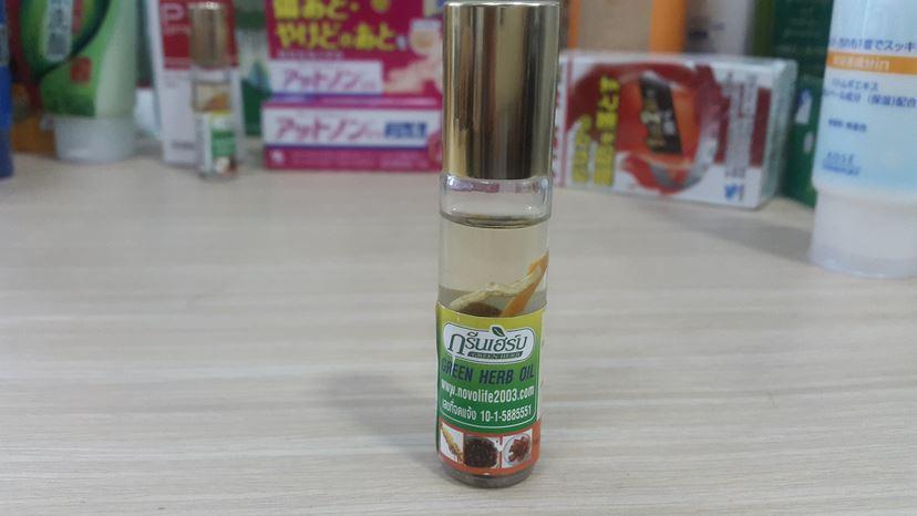 Dầu sâm thảo dược Thái Lan Green Herb Oil