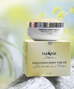 Kem Whitening Body Cream Hana