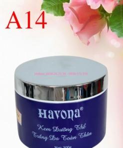 Kem Dưỡng Trắng Da Toàn Thân Whitening Body Cream Havona A14