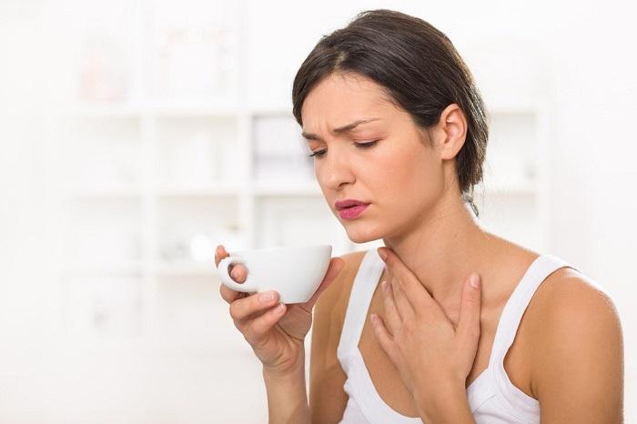 Cách chữa đau rát cổ họng cho bà bầu