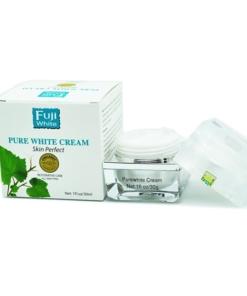 Mỹ phẩm Fuji White Kem Dưỡng Trắng Da Mặt Pure White Cream