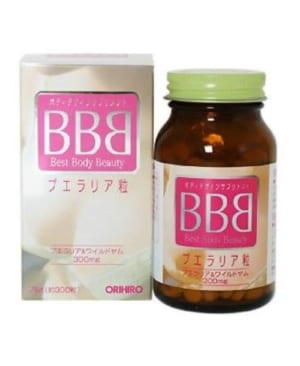 Thuốc nở ngực bbb của Nhật best beauty body orihiro Japan