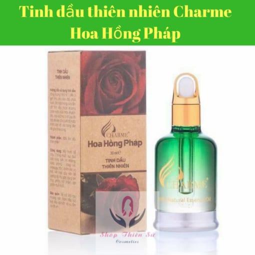 Tinh dầu thiên nhiên hoa hồng Pháp Charme nguyên chất