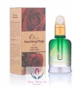 Tinh dầu thiên nhiên hoa hồng Pháp thích hợp xông phòng ngủ