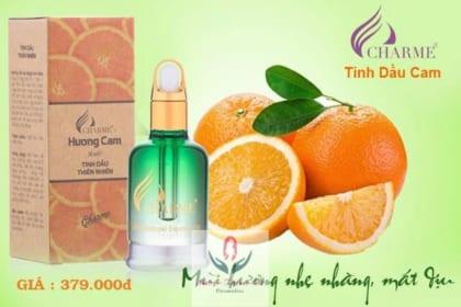 Tinh dầu thiên nhiên hương cam Charme nguyên chất