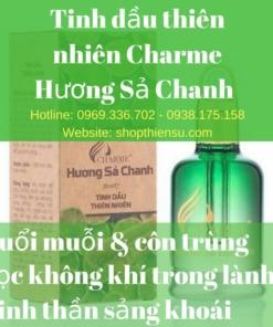 Tinh dầu thiên nhiên hương sả chanh Charme 30ml