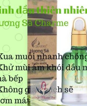 Tinh dầu thiên nhiên Hương Sả Charme