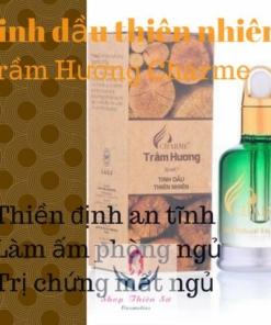 Tinh dầu thiên nhiên trầm hương Charme trị chứng mất ngủ hiệu quả