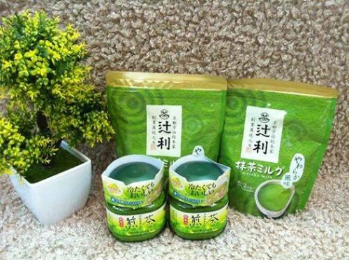 Bột trà xanh matcha đắp mặt chính hãng Nhật,, giảm vết nhăn và làm chậm quá trình lão hóa