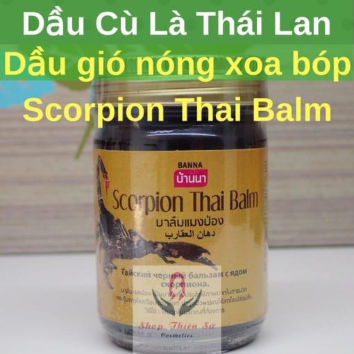 Dầu Nóng Xoa Bóp Scorpion Thai Balm Thái Lan
