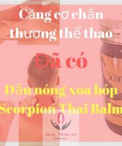 Dầu Nóng Xoa Bóp Scorpion Thai Balm