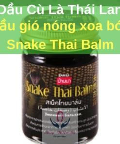 Dầu Nóng Xoa Bóp Snake Thai Balm Thái Lan