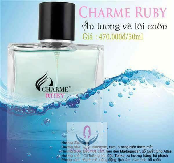 Giá nước hoa Charme Ruby nam 50ml
