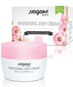 Kem dưỡng trắng da trang điểm Nagano