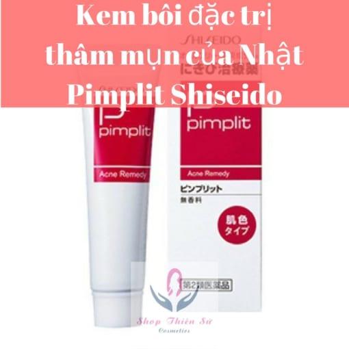 Kem trị mụn thâm của nhật Pimplit Shiseido