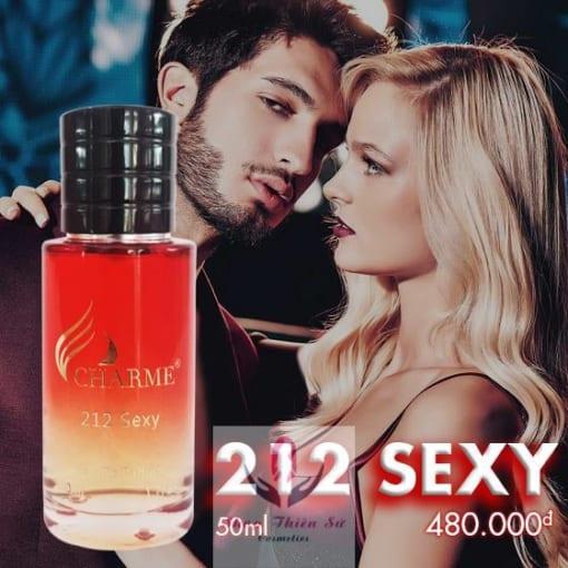 Nước Hoa Charme 212 Sexy lôi cuốn mạnh mẽ