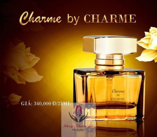Nước hoa Charme by Charme với thiết kế hiện đại, sang trọng
