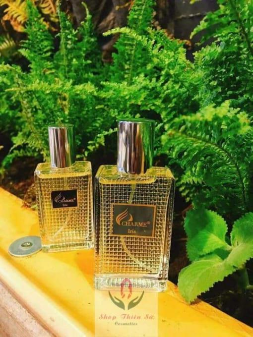 Nước hoa nam Charme Iris mùi hương bạc hà ngọt mát độc đáo