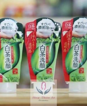 Sữa rửa mặt trà xanh matcha Nhật Bản kháng khuẩn làm sạch da