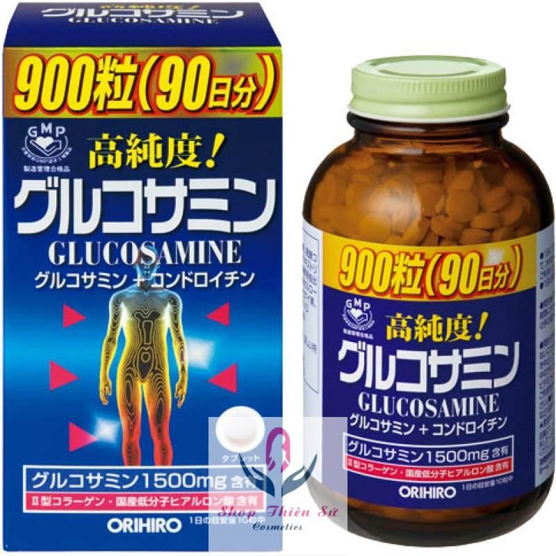 Thuốc bổ xương khớp glucosamin Orihiro nhập khẩu