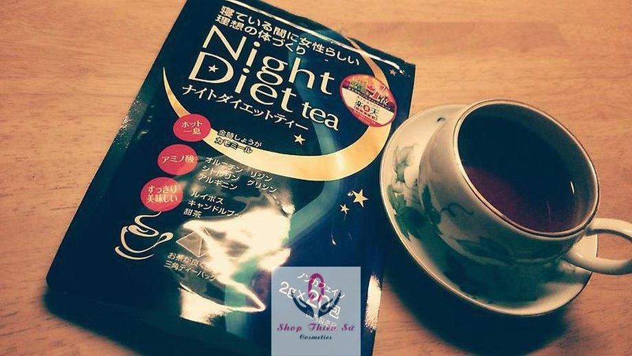 Trà Giảm cân Night Diet Tea Orihiro