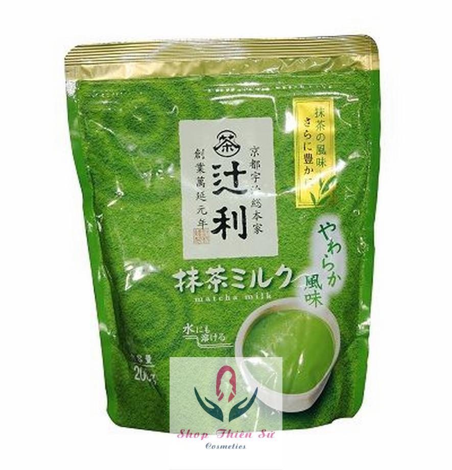 Bột sữa trà xanh matcha milk của Nhật Bản