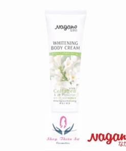 Kem trắng da Body chống nắng Collagen Nagano