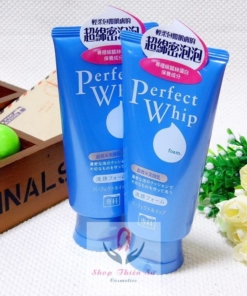 sữa rửa mặt shiseido perfect whip 120ml