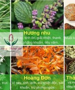 Thành phần thuốc trị nấm da Đông Y Gia Truyền Nam Hoàng