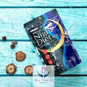 Trà Giảm cân Night Diet Tea Orihiro nhập khẩu chính hãng Nhật