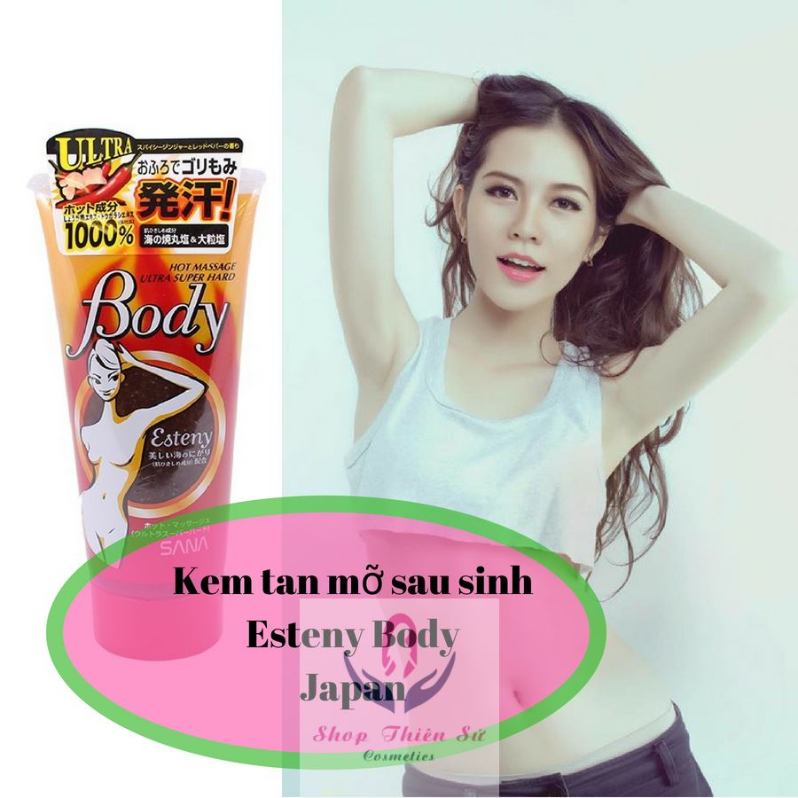Esteny Body Hot Massage Gel Super