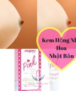 Kem làm hồng nhũ hoa của Nhật Nagano Pink Nipple Jelly