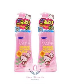 Thuốc xịt chống muỗi của Nhật Skin Vape Hello Kitty 200ml