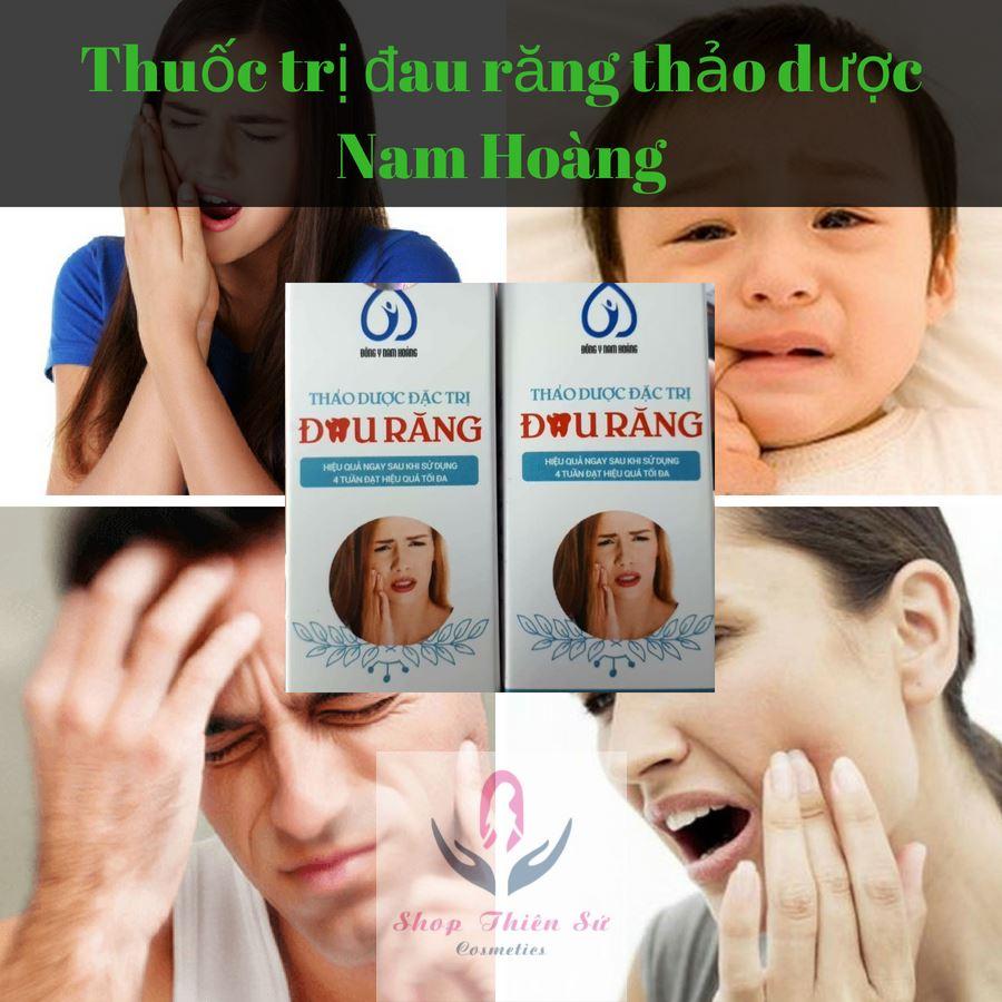 Thuốc trị nhức răng Nam Hoàng