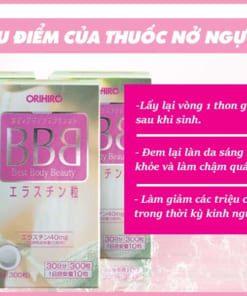 Ưu điểm của thuốc nở ngực BBB
