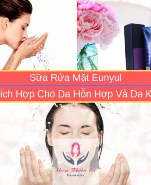 Sữa Rửa Mặt Advanced B5 Hydration Foam Cleanser Eunyul Dành Cho Da Hỗn Hợp
