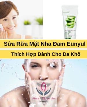 Sữa Rửa Mặt Nha Đam Dành Cho Da Khô Eunyul