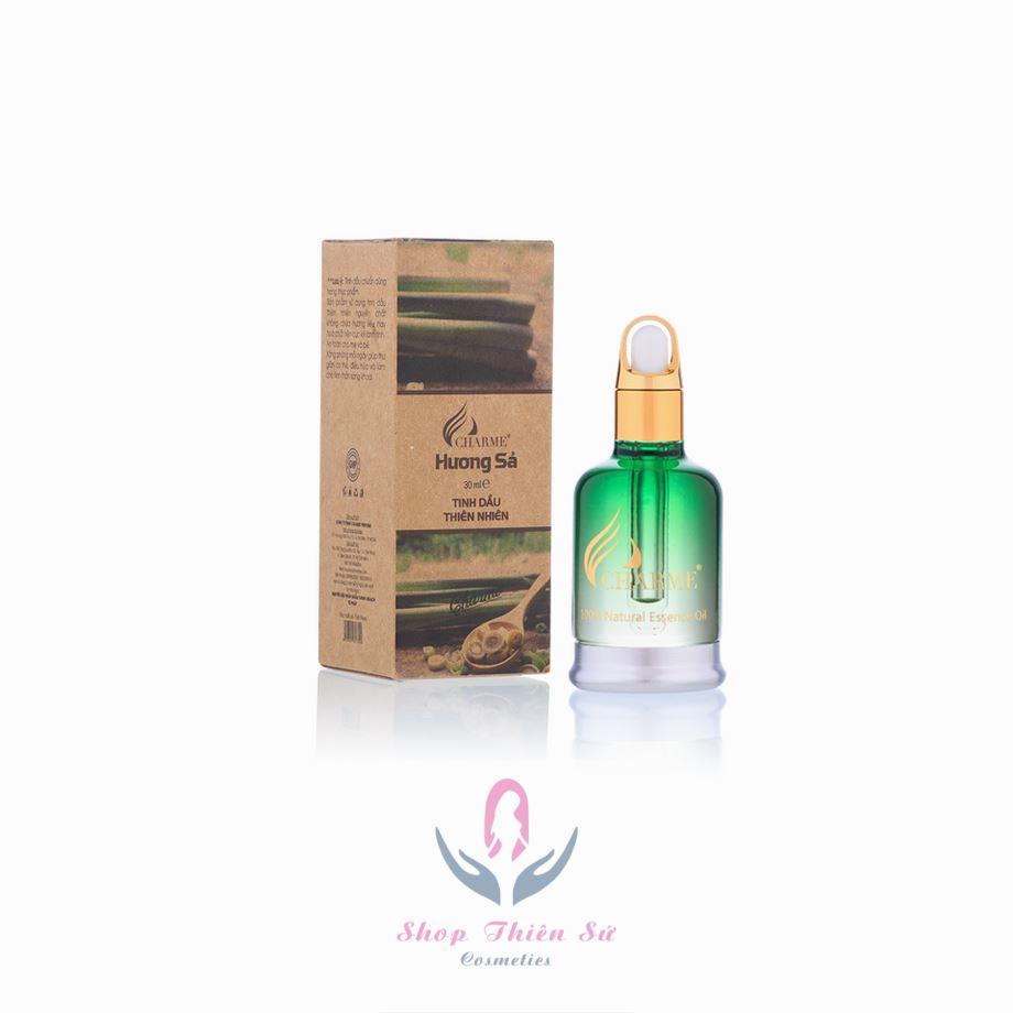 Tinh dầu khử mùi khói thuốc từ tinh dầu sả Charme