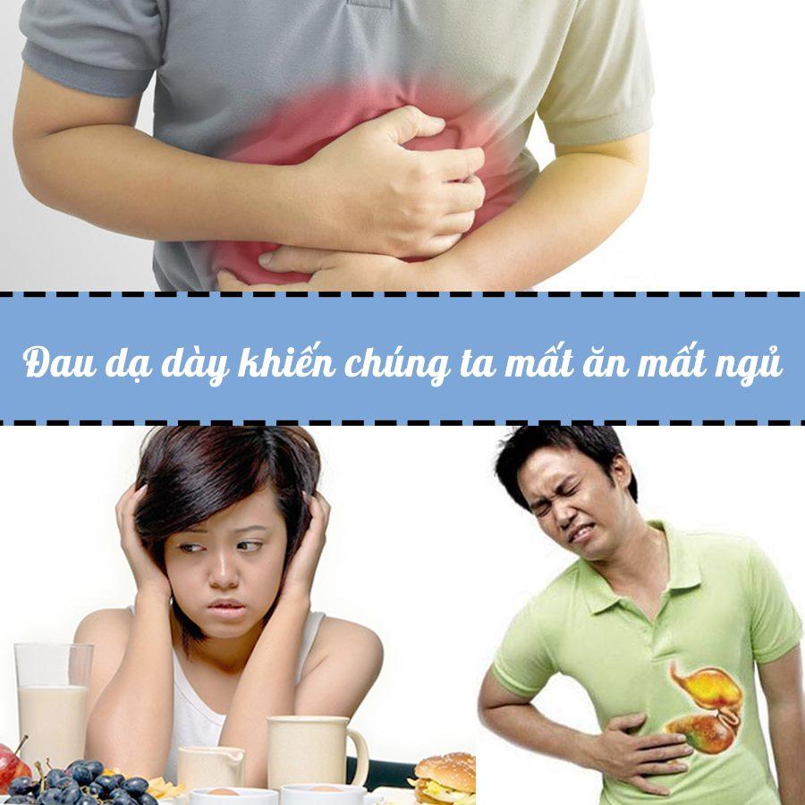 Đau dạ dày khiến chúng ta mất ăn mất ngủ