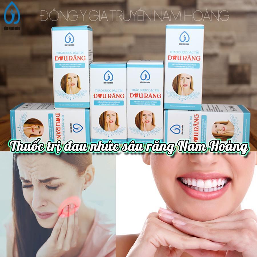 Thuốc trị đau nhức sâu răng thảo dược Nam Hoàng