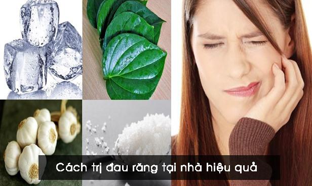 Cách trị đau răng tại nhà hiệu quả