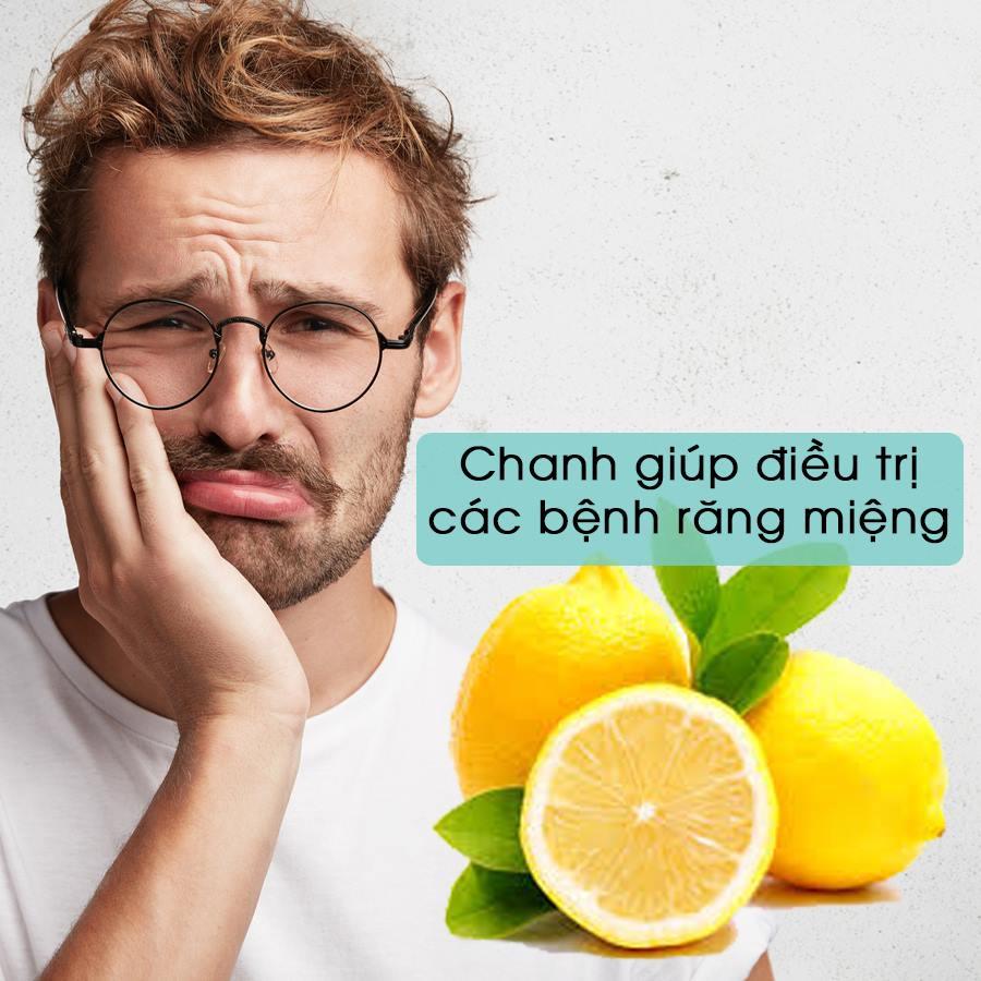 Chanh giúp điều trị các bệnh răng miệng