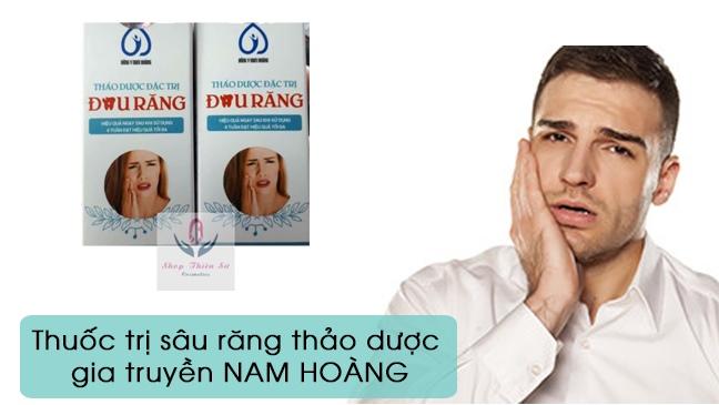 Thuốc chữa bệnh sâu răng hàm thảo dược Nam Hoàng