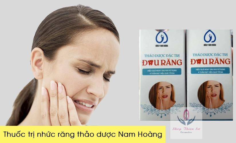 Thuốc trị đau răng sâu Nam Hoàng