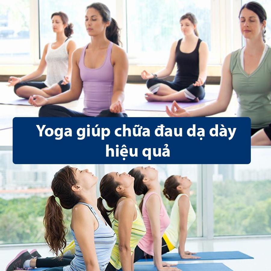 Bài tập Yoga chữa đau dạ dày